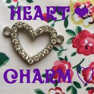 Other - Heart Blinged Charm 💎